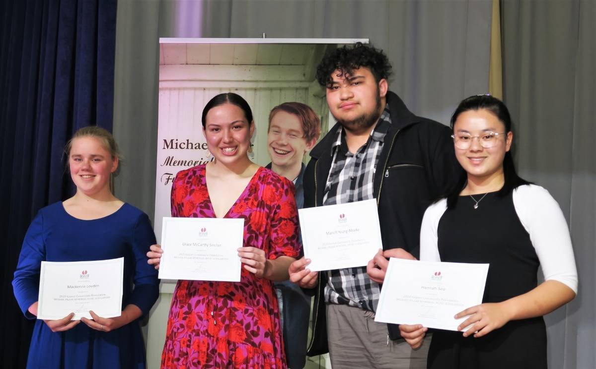 Inaugural scholarships assist proficient musicians keep in tune