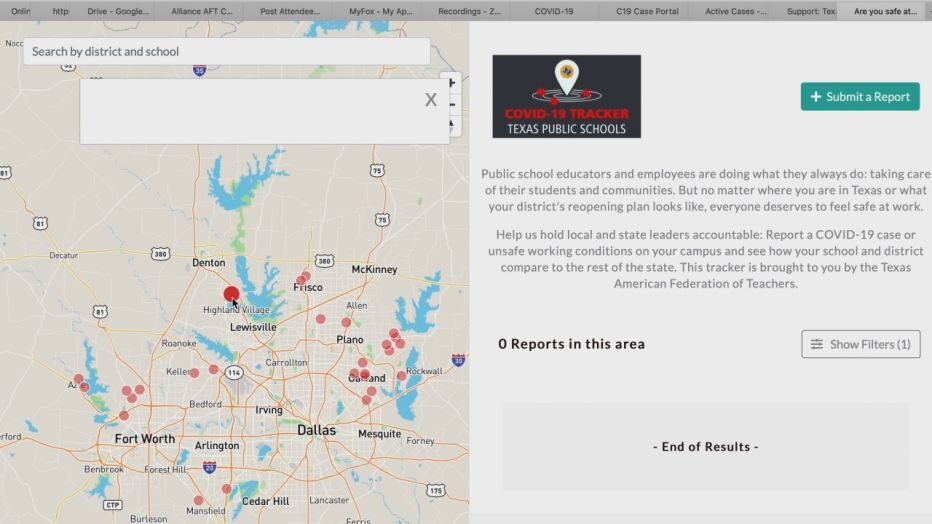 Texas academics union launches web site to trace COVID-19 instances by college district
