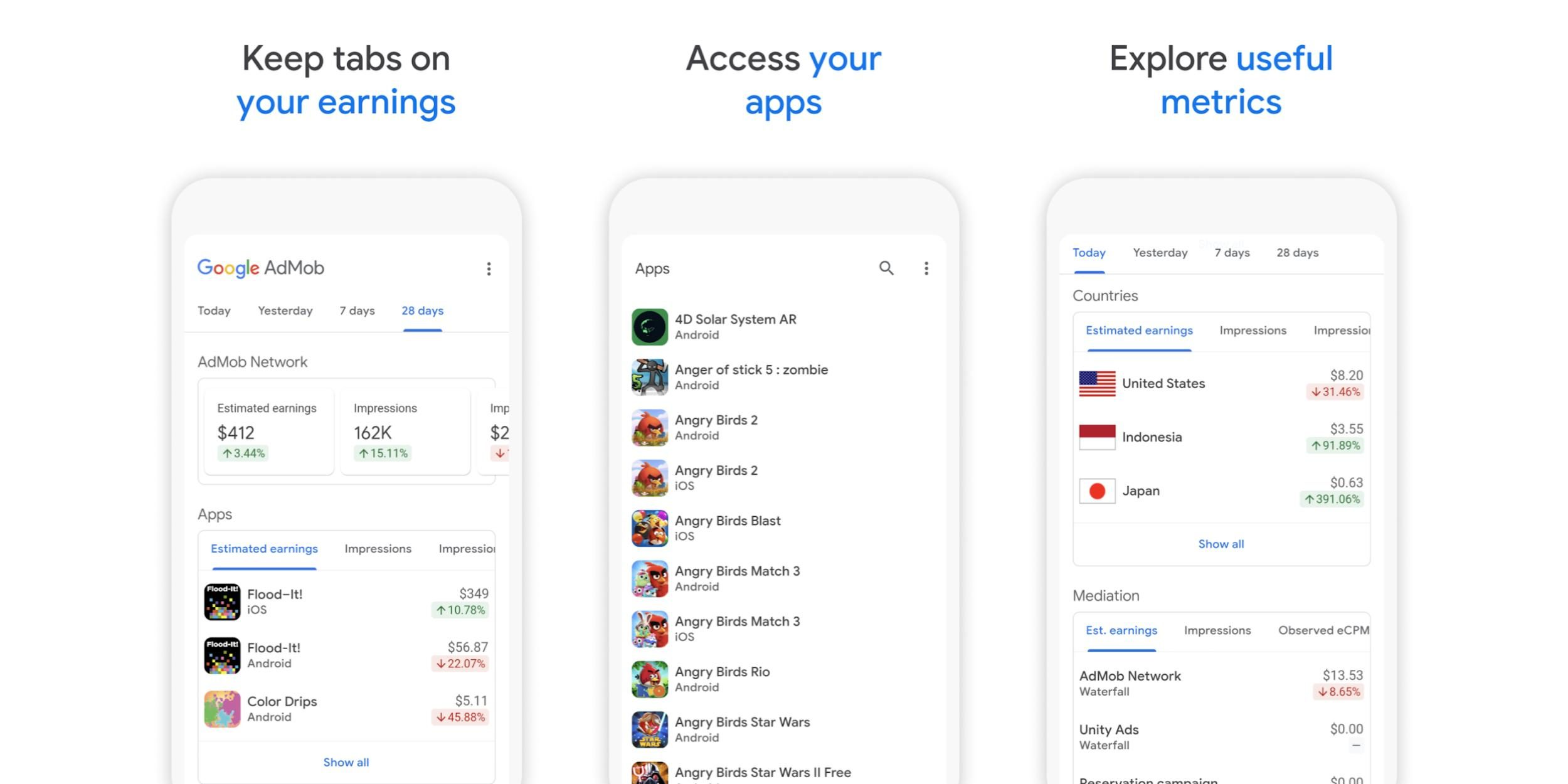 Google releases AdMob for Android on the Play Retailer