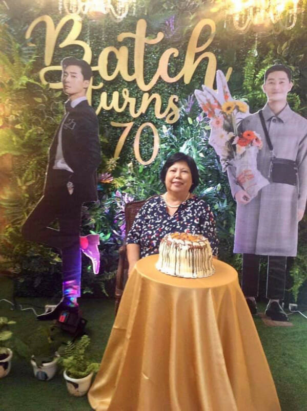 70yo Grandma In Phillipines Loves Park Seo Joon So Much That She Had Him During Her B'day Party