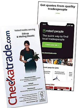 Should you rely on the websites tradesmen PAY to be listed on?
