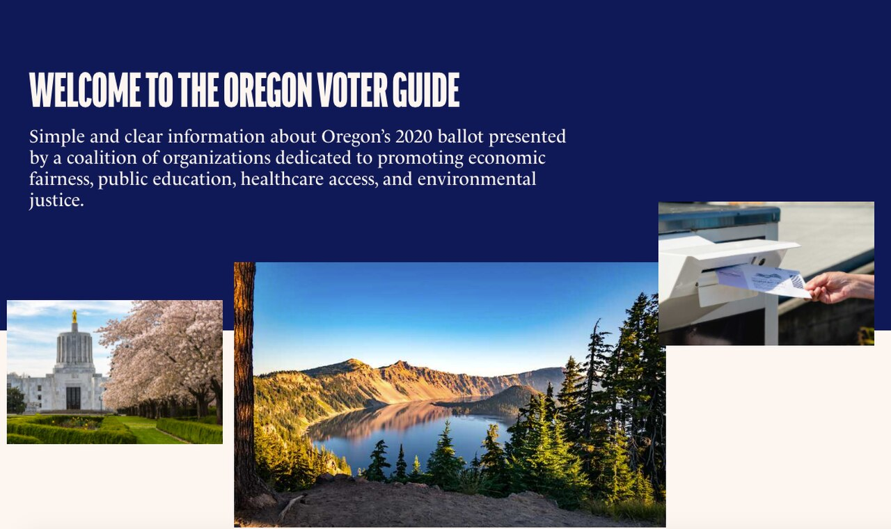 Oregon public employee unions, interest groups launch neutral looking election website to sway voters