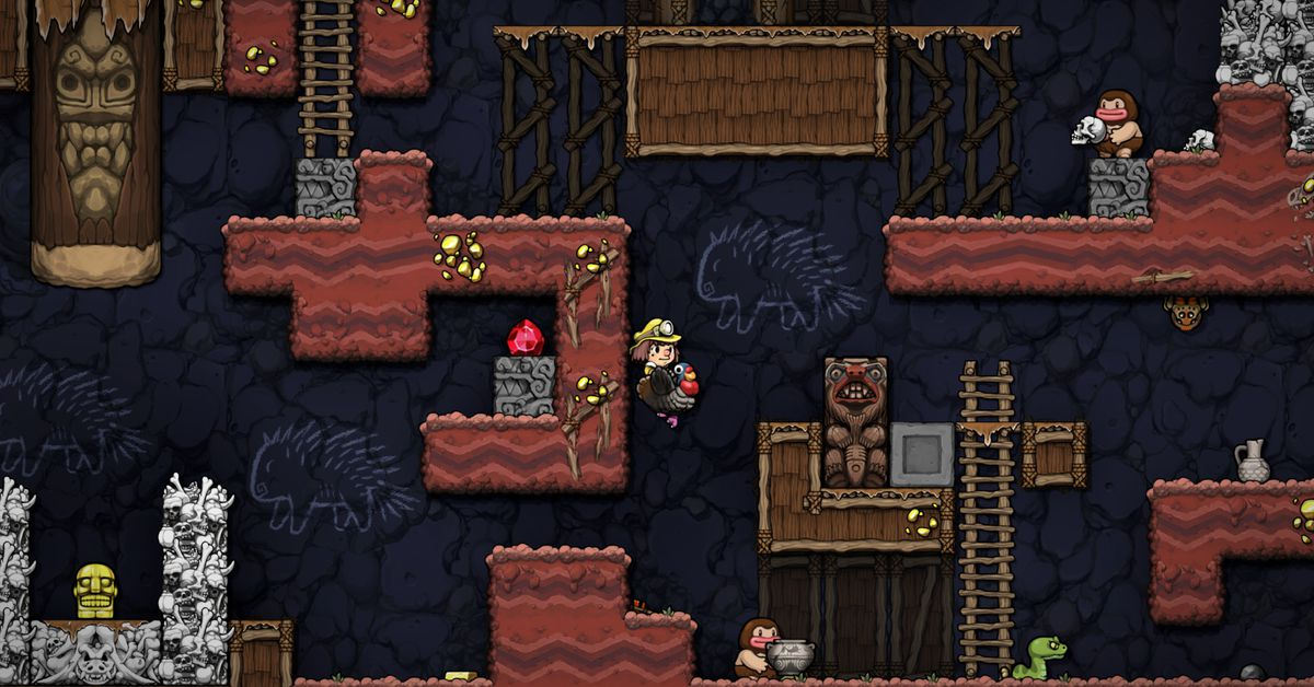 Spelunky 2 AI: Watch the computer try to tackle the hardest game of 2020