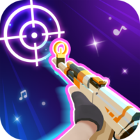 Beat Shooter Gunshots Rhythm Game  1.5.3 APK Cracked Downlaod – PRO for android