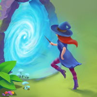 Charms of the Witch: Magic Mystery Match 3 Games 2.27.0 APK Cracked Downlaod – PRO for android