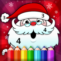 Christmas Coloring Book By Numbers 2.4 APK Cracked Downlaod – PRO for android