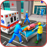 City Ambulance Rescue Simulator Games 🚑 🚁 1.0 APK Cracked Downlaod – PRO for android