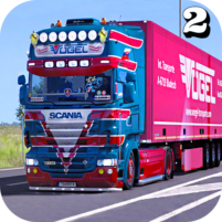 Euro Truck Transport Simulator 2: Cargo Truck Game 1.3 APK Cracked Downlaod – PRO for android