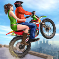 Extreme Rooftop Bike Rider Sim : Bike Games 2.9 APK Cracked Downlaod – PRO for android