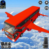 Flying Bus Driving simulator 2019: Free Bus Games 3.2 APK Cracked Downlaod – PRO for android