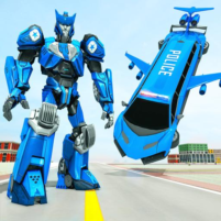 Flying Limo Robot Car Transform: Police Robot Game 1.0.16 APK Cracked Downlaod – PRO for android
