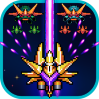 Galaxiga Classic Arcade Shooter 80s – Free Games  21.3 APK Cracked Downlaod – PRO for android