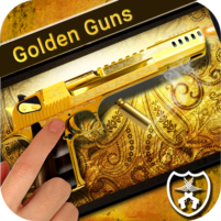 Golden Guns Weapon Simulator 1.5 APK Cracked Downlaod – PRO for android