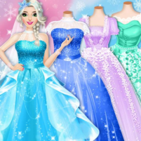 Ice Princess Wedding Dress Up Stylist 0.11  APK Cracked Downlaod – PRO for android