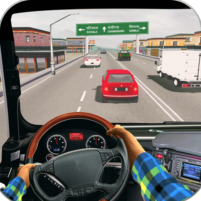 In Truck Highway Rush Racing Free Offline Games 1.3 APK Cracked Downlaod – PRO for android