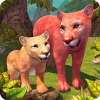 Mountain Lion Family Sim Animal Simulator  1.8.1 APK Cracked Downlaod – PRO for android