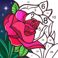 Tap Color Lite Color by Number. Coloring Games  4.1.1 APK Cracked Downlaod – PRO for android