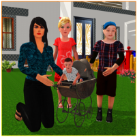 Virtual Single Mom Simulator: Family Mother Life 1.15 APK Cracked Downlaod – PRO for android