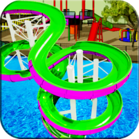 Water Slide Games Simulator 1.1.8 APK Cracked Downlaod – PRO for android