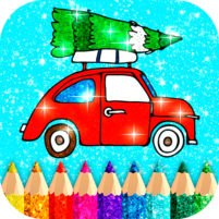 Christmas Coloring Game offline❄️🎄🎨 1.4 APK Cracked Downlaod – PRO for android