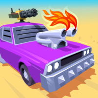Desert Riders Car Battle Game  1.2.7 APK Cracked Downlaod – PRO for android