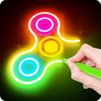 Draw Finger Spinner 1.0.10 APK Cracked Downlaod – PRO for android