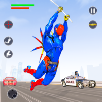 Flying Robot Rope Hero Vegas Crime City Gangster 3.8 APK Cracked Downlaod – PRO for android