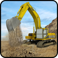 Hill Excavator Mining Truck Construction Simulator 1.3 APK Cracked Downlaod – PRO for android