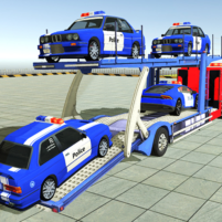 Police Car Transporter 3d: City Truck Driving Game 3.2 v APK Cracked Downlaod – PRO for android