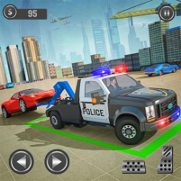 Police Tow Truck Driving Simulator 1.2 APK Cracked Downlaod – PRO for android