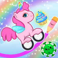 Pony Go : Drawing Race – Rainbow Paint Lines 1.1.3  APK Cracked Downlaod – PRO for android