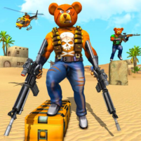 Teddy Bear Gun Strike Game: Counter Shooting Games 3.2 APK Cracked Downlaod – PRO for android
