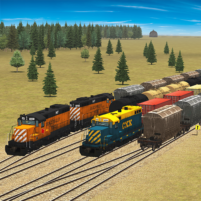 Train and rail yard simulator 1.1.4 APK Cracked Downlaod – PRO for android