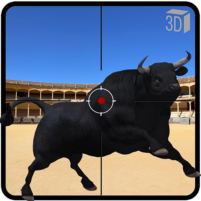 Angry Bull Attack Shooting 64.1 APK Cracked Downlaod – PRO for android