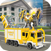 City Garbage Truck Flying Robot-Trash Truck Robot 1.6 APK Cracked Downlaod – PRO for android