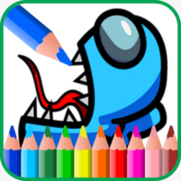 Coloring Among Us 1.3 APK Cracked Downlaod – PRO for android