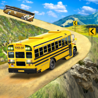 Offroad School Bus Driving: Flying Bus Games 2020 1.39 APK Cracked Downlaod – PRO for android
