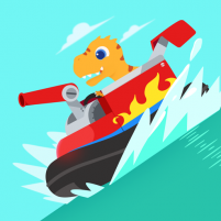 Dinosaur Patrol Boat – Coast Guard Games for kids 1.0.8 APK Cracked Downlaod – PRO for android