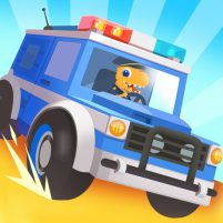 Dinosaur Police Car – Police Chase Games for Kids 1.1.3 APK Cracked Downlaod – PRO for android