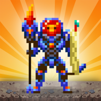 Dunidle Pixel RPG Idle 8 Bit 2D AFK Dungeon Games  6.3.6 APK Cracked Downlaod – PRO for android