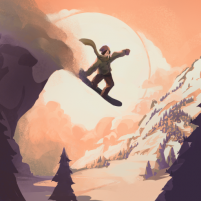 Grand Mountain Adventure: Snowboard Premiere 1.180 APK Cracked Downlaod – PRO for android