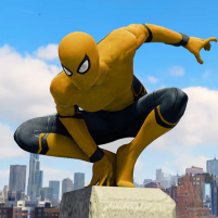 Spider Rope Hero Gangster New York City 1.5.10 APK Cracked Downlaod – PRO for android