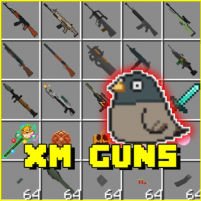 XM Guns Addon MCPE 1.8 APK Cracked Downlaod – PRO for android