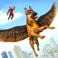 Flying Super Hero Dog City Animal Rescue 1.0.11 APK Cracked Downlaod – PRO for android