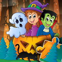 Halloween Puzzle for kids & toddlers 🎃 2021.39 APK Cracked Downlaod – PRO for android