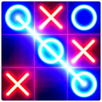 Tic Tac Toe Glow 1.3 APK Cracked Downlaod – PRO for android