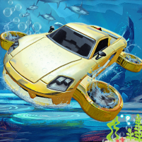 Underwater Flying Car Game 1.0.2 APK Cracked Downlaod – PRO for android