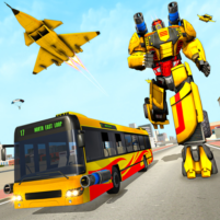 Bus Robot Car Transform: Flying Air Jet Robot Game 1.1 APK Cracked Downlaod – PRO for android