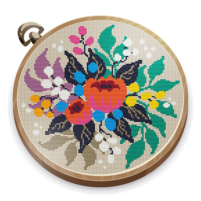 Cross Stitch Club — Color by Numbers with a Hoop  1.4.39 APK Cracked Downlaod – PRO for android