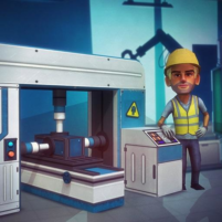 Factory Tycoon : Idle Clicker Game 0.6 APK Cracked Downlaod – PRO for android